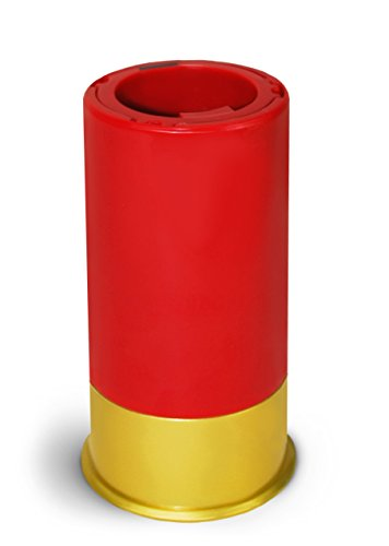 BigMouth Inc Shotgun Shell Pop Off Bottle Opener, Red