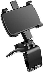 EElabper Soporte de teléfono para salpicadero de coche, soporte para teléfono móvil, soporte para teléfono móv
