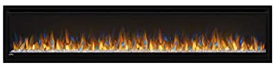 Napoleon Alluravision Deep Depth Linear Electric Fireplace (NEFL74CHD), 74-inch