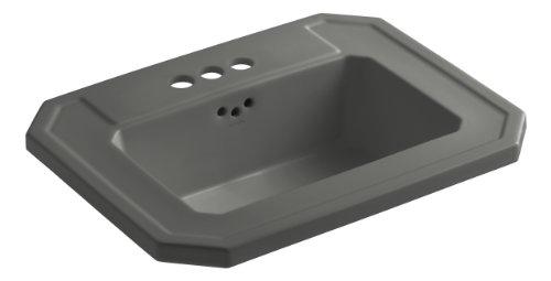 KOHLER K-2325-4-58 Kathryn Self-Rimming Bathroom Sink with 4