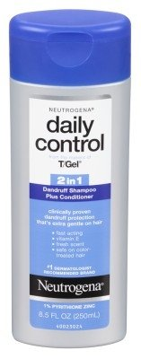 Neutrogena T/Gel Daily Control 2-In-1 Dandruff Shampoo 8.5oz (6 Pack) by Neutrogena
