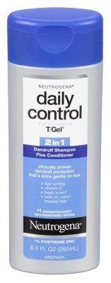 Neutrogena T/Gel Daily Control 2-In-1 Dandruff Shampoo 8.5oz (6 Pack)