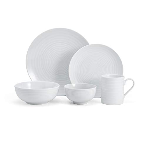 Mikasa 5224196 Cheers 40-Piece Dinnerware Set, Service for - 12 Dinnerware Oz