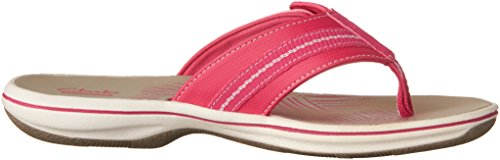 Clarks Brinkley Jazz Thong Sandale Pink Synthetic