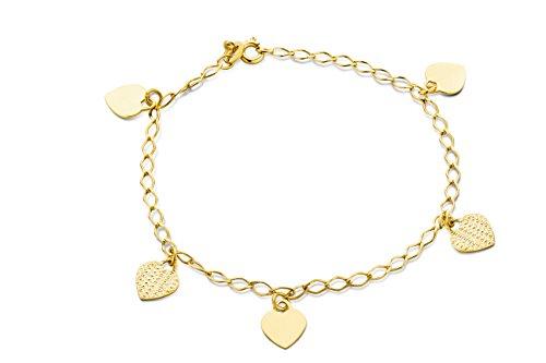 Miore - Bracelet Femme - Or jaune (9 cts)