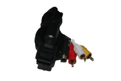 Av-s Video Composite Cable for Nintendo 64 N64, Gamecube, & Super Nintendo Snes ()