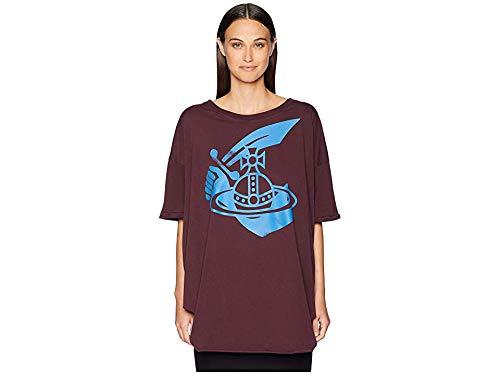 (Vivienne Westwood Women's Baggy T-Shirt Bordeaux Small)