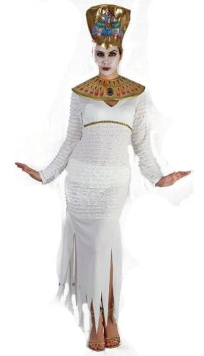 Mummy Cleopatra Halloween Fancy Dress Outfit (US 6-10) ()
