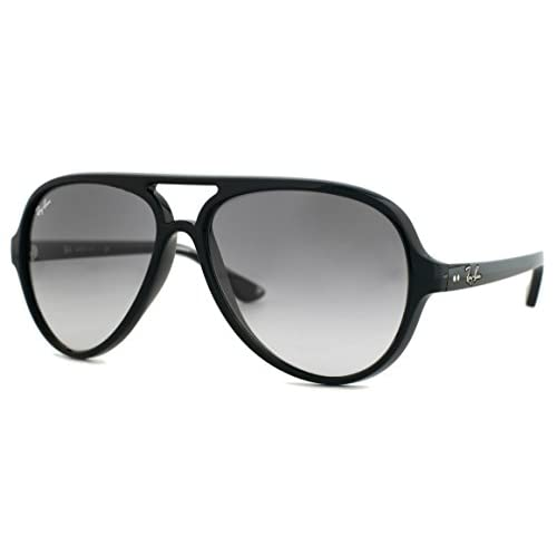 5000 New Ray Black Sunglasses Ban 59mm Grey 60132 4125 Cats Rb 5cAqjL34R