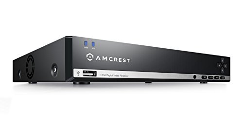 Amcrest 960H 8CH 1TB Security Camera DVR (Cameras Not Included) (Security Dvrs)