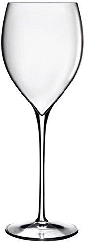 Luigi Bormioli 08962/06 Magnifico 11.75 oz Small Wine Glasses, Set of 6, Clear