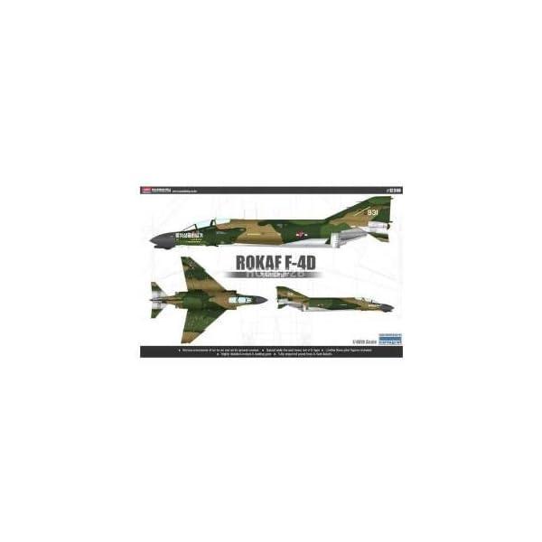 Academy 1/48 ROKAF F-4D Aircraft Plastic Model Kit #12300 1