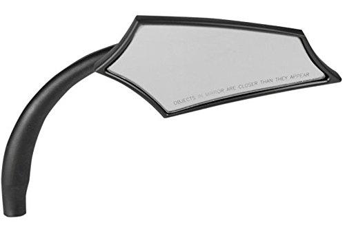 Russ Wernimont Designs 5-Arc Style Mirror - Right - Black ()