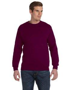 Gildan Dryblend Adult Crew Neck Sweatshirt, Maroon, ()