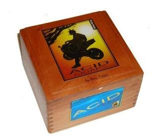Acid Cigars (PREMIUM Wooden Empty Cigar Box - ACID BOX)