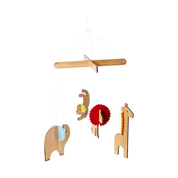 Petit Collage Bamboo Deluxe Mobile – Safari (Discontinued by Manufacturer)