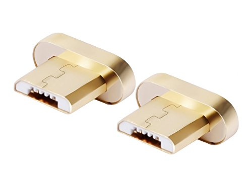Smart&Cool Gen3 Magnetic Micro-USB Tips (The Little end That goes into Phone) for Android Phone and Tablets (not Compatible with Gen4/Gen5) (Twin-Pack Plug)