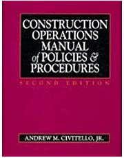 Construction Operations Manual of Policies and Procedures/Book and Disk