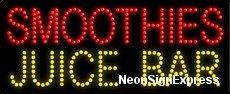 Smoothies Juice Bar LED Sign Juice Bar Led Sign