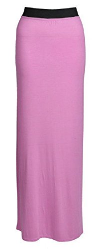 Ladies Womens Gypsy Long Bodycon Maxi Dress Ladies Skirt Size 8-26*Jersey Skirt
