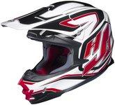 HJC FG-X Hammer Off-Road Helmet (Red/White/Black, Small)
