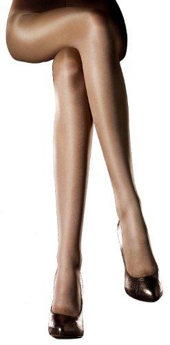 Levante Pantyhose - Levante Brillante Shiny/Glossy Tights: 20 Denier Natural X-Tall