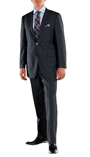 42S Ferrecci FORD NAVY Regular Fit 2pc Suit, used for sale  Delivered anywhere in USA
