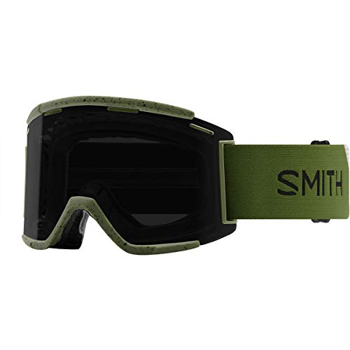Smith Squad XL MTB ChromoPop Goggle Moss/Sun Black, One Size (Best Goggles For Snowboarding 2019)