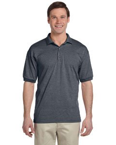 Gildan 8800 - Classic Fit Adult Jersey Sport Shirt DryBlend - First Quality - Dark Heather - 2X-Large