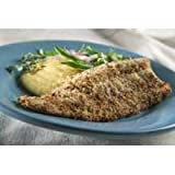 Clear Springs Foods Pecan Crusted Trout Fillet, 10 Pound -- 1 each.