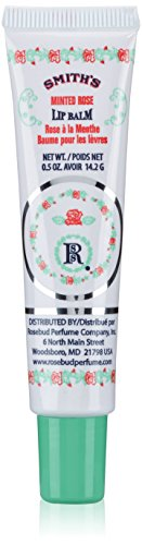 Salve Lip Balm (Smith's Rosebud Perfume Co. Minted Rose Lip Balm in a Tube .5 oz)
