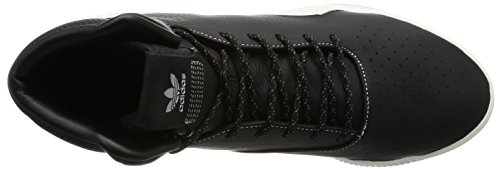 adidas Men's Tubular Instinct Boost Hi-Top Trainers, Black White Black White