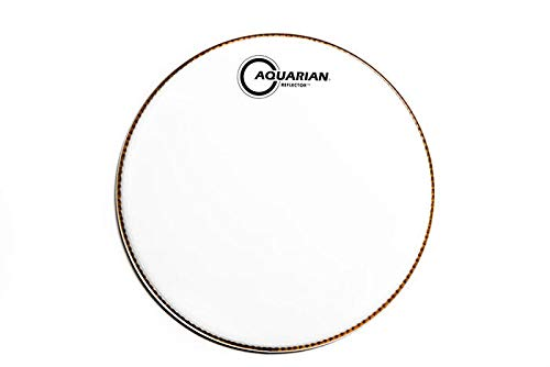 (Aquarian Reflector Series Superkick Bass Drumhead White 24