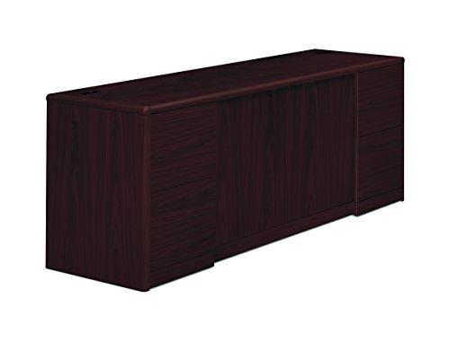 HON 10742NN 10700 Series Credenza w/Doors, 72w x 24d x 29 1/2h, Mahogany