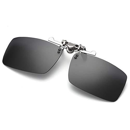 de Gafas Nocturna Gafas enganchan magnesio Las Hombres Clip del de visión de Sol de la del de Marco polarizadas los de Las del Clip A Aluminio del A Gafas KOMNY Espejo del y Las miopía la Sol P45wqAU