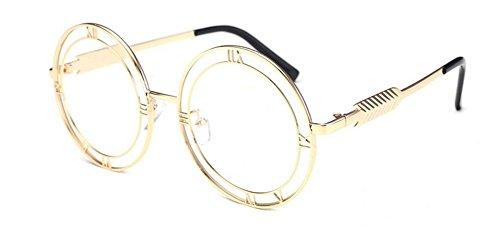 en Lennon style cercle vintage retro du inspirées soleil lunettes métallique rond de Lumière polarisées nxX84Txzq