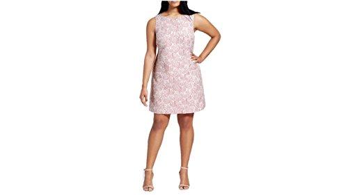 Victoria Beckham Target Women's Blush Floral Jacquard Dress XL - Sale Clothes Victoria Beckham For