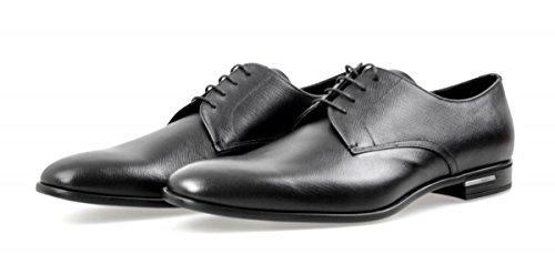 Prada Mens 2ec030 053 F0002 Chaussures De Travail En Cuir Saffiano