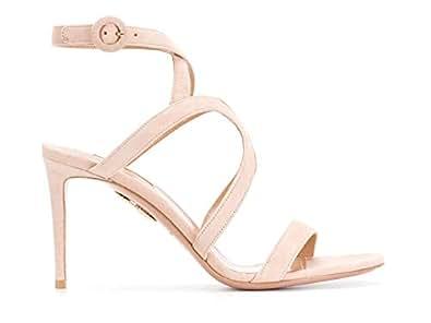 Aquazzura Mujer Mrnmids0sue Rosa Cuero Zapatos