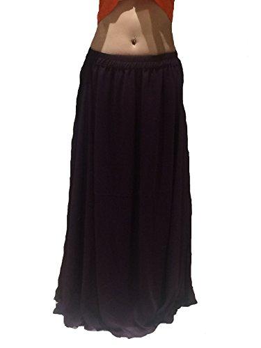 A Viola Adatto Scegli S Costume Ondulate Nero 8 Belly Xxl Dance Gonna Lunghezza Orlato 10 Fino 24 Britannico Formato 6m rqtAgq
