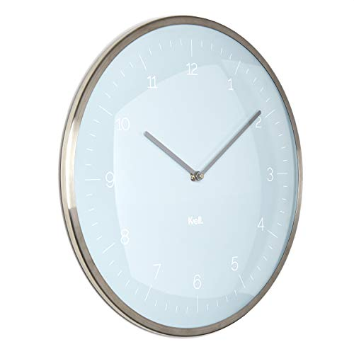 - Kvell Domo Wall Clock, Honest Blue