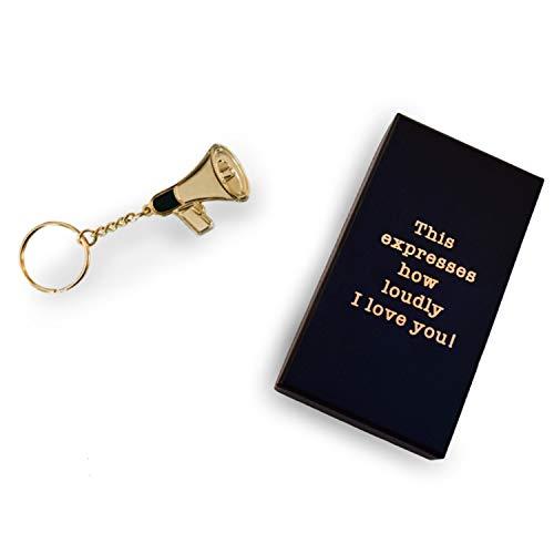 Office TV Merchandise - Dwight Schrute Keychain - CoolTVProps Dwight Angela Megaphone Memorabilia
