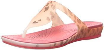 Crocs Rio Leopard Fade Women's Sandal