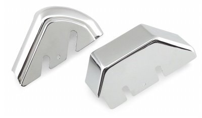 (Bikers Choice Rear Master Cylinder Cover for Harley FL 58-79)