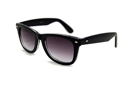 - Classic Full Reader Sunglasses NOT BiFocals-Hard Case Included-Black 2.50