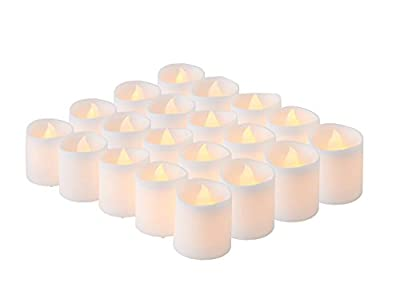 Brightpik Premium Flameless Candles - Set of LED Battery Operated Votive Tea Lights