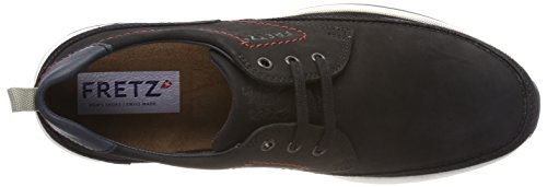 Fretz Men Mens Cordless Derbys Nero (noir)