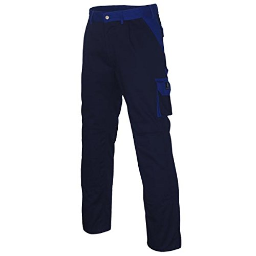 Mascot 00979-430-111-82C52 Torino Pantalon Taille Longueur 82 cm/C52 Bleu Marine/Bleu Bleuet