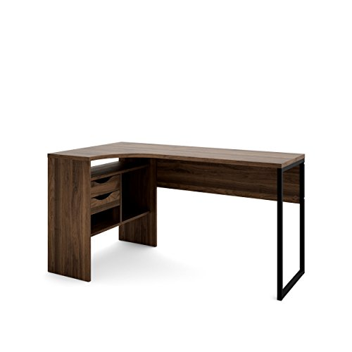 Tvilum 80118djdj Wayland 2 Drawer Desk, Walnut ()