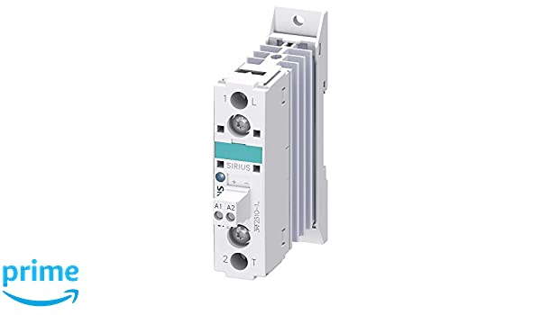 Single Phase Zero-Point Switching Siemens 3RF23 10-1AA22 SIRIUS SC Semiconductor Contactor 10.5A Type Current 24-230V Rated Operational Voltage